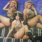Las Chicas Guau, verdaderas esculturas de otros tiempos.
